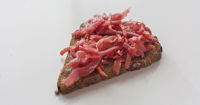 бутерброд с капустой по-корейски от АФК