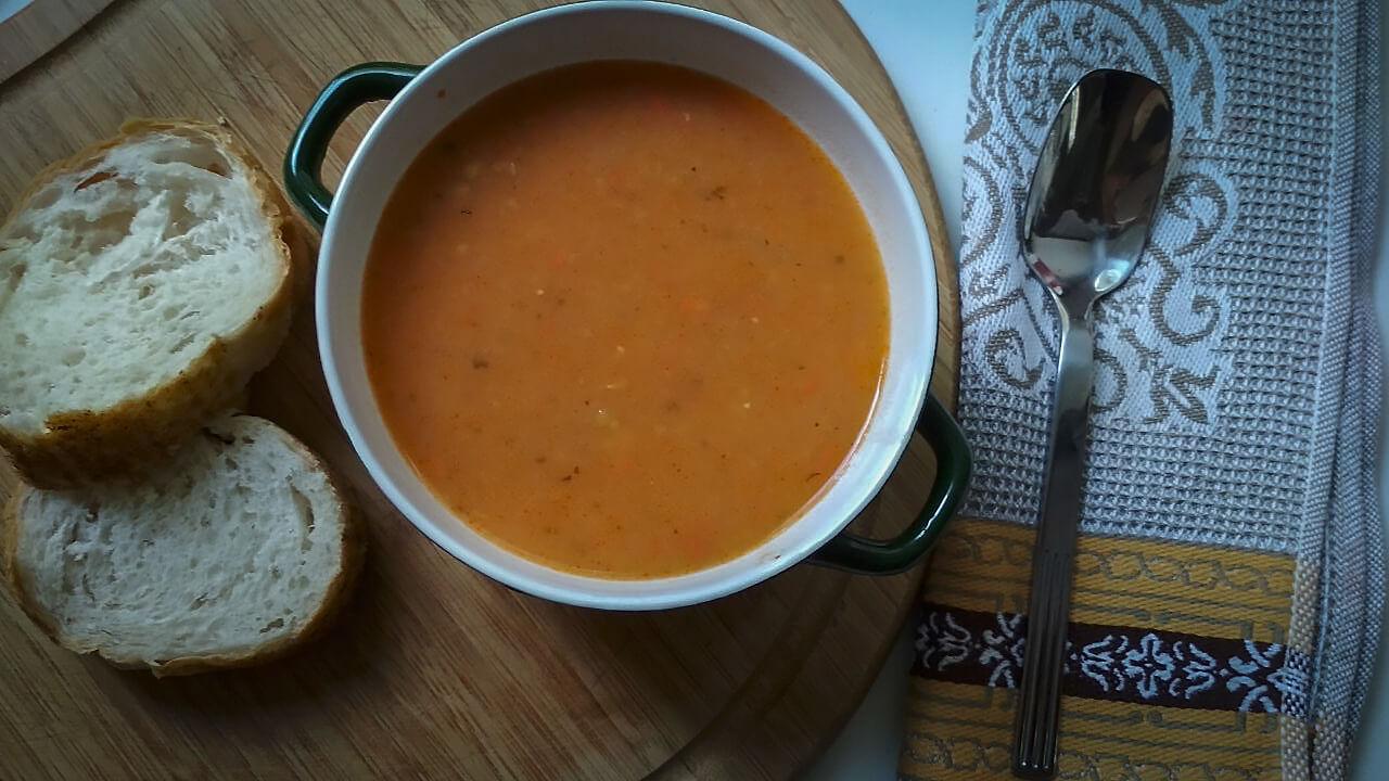сервировка супа картинка