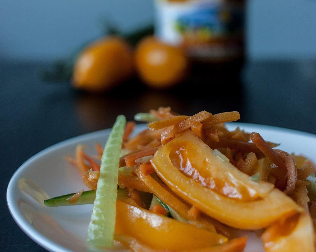 добавьте в овощной салат морковь по-корейски от АФК