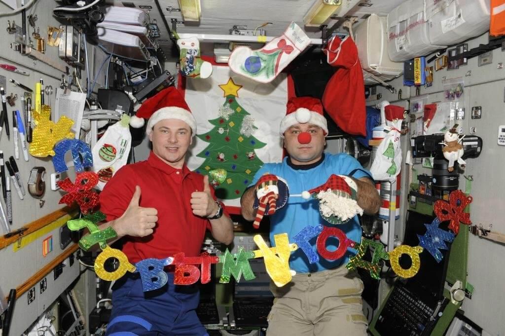 Космонавты проводят без алкоголя даже праздничные дни