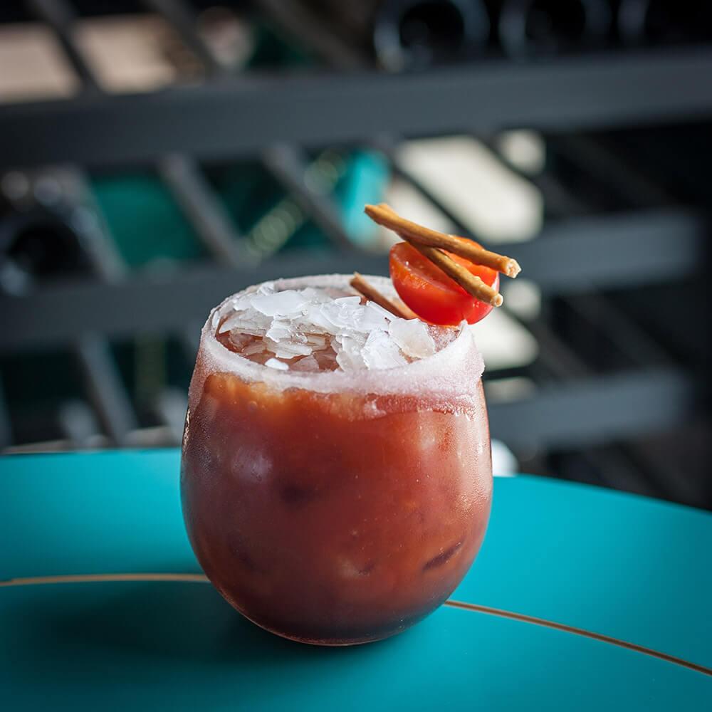 Кровавая мэри из томатного сока от АФК