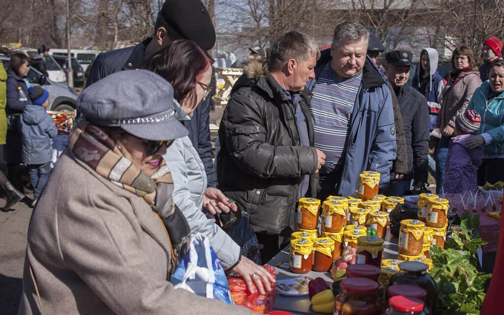 Накормили тысячи людей на дегустации