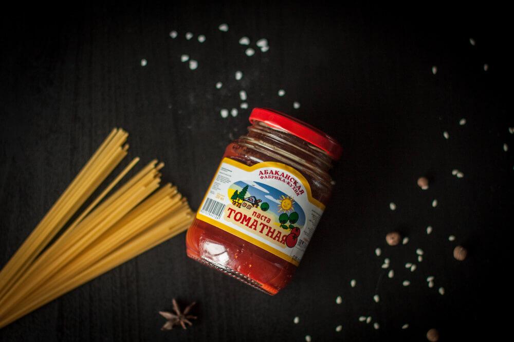 Томатная паста Абаканской Фабрики-Кухни