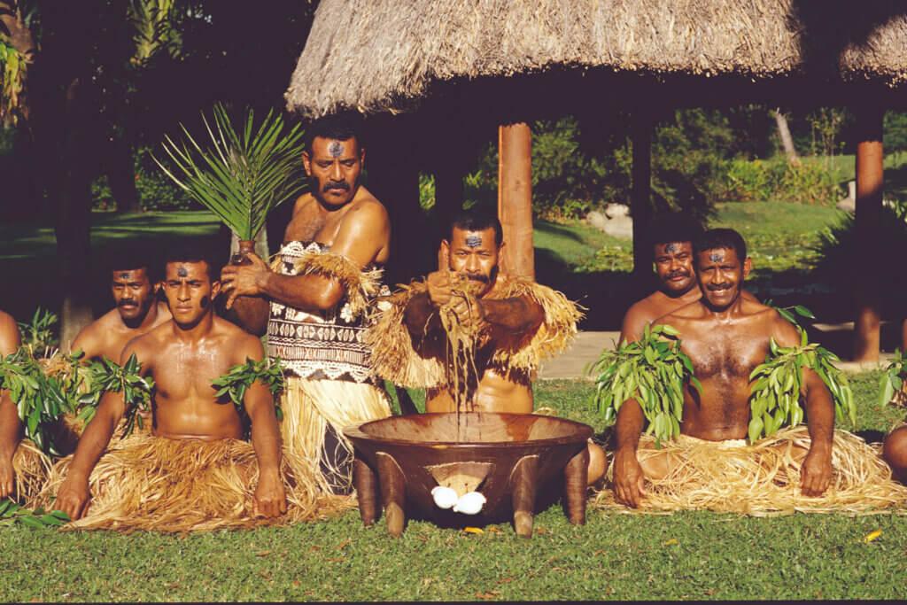 Из опьяняющего перца Кава жители Фиджи делают расслабляющий напиток